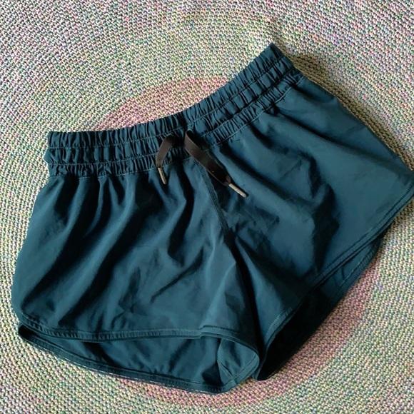 Lululemon Dark Teal Athletic Running Short Size 4